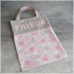 "Kindergartentasche Beutel ""Pustblume"" inkl. Namen"